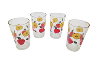 SET 4  VASO DECO 12 ONZ LOTUS WH-4FLW01/936423